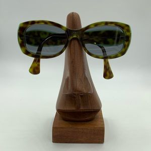 Vintage Green Tortoise Oval Sunglasses Frames
